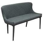 Savoy Accent Bench - Graphite (Set of 2)