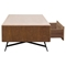 Tempo Cocktail Table - 1 Drawer, Shelf, Walnut - DS-TEMPOCT