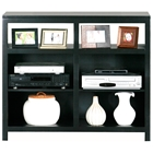 Adler Tall Birch Wood TV Stand - Open Shelves