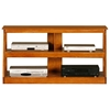 "Adler 48"" Oak Wood TV Stand - Open Back"