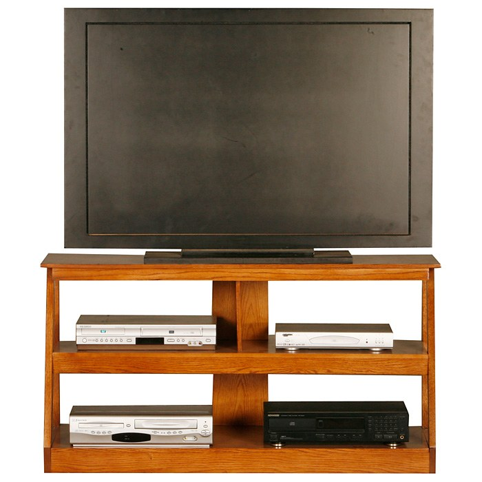 "Adler 48"" Oak Wood TV Stand - Open Back - EGL-23948"