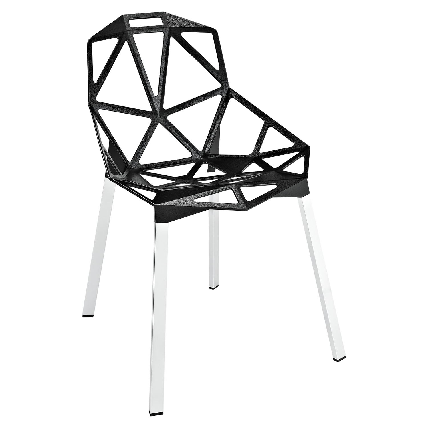 Connections Dining Side Chair - Black
