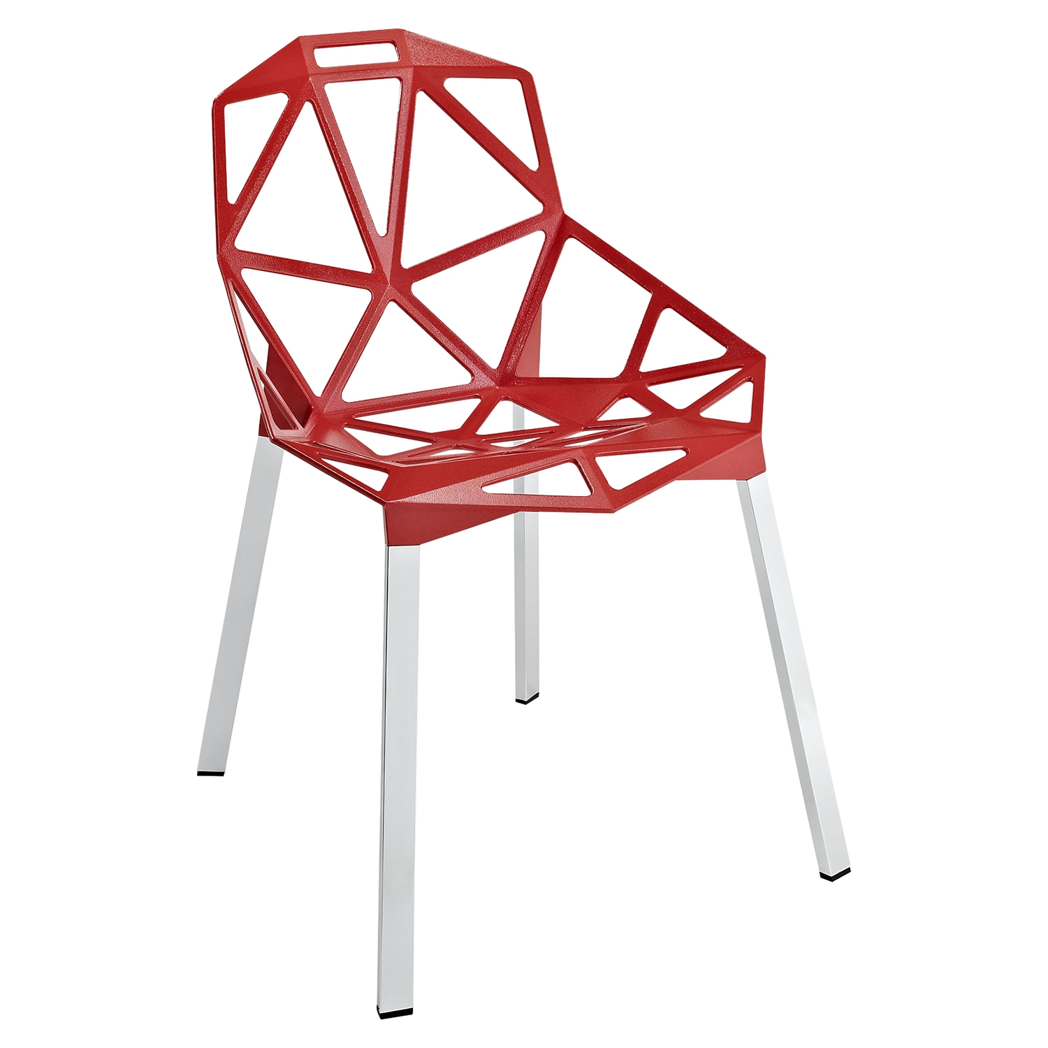 Connections Dining Side Chair - Red - EEI-1016-RED