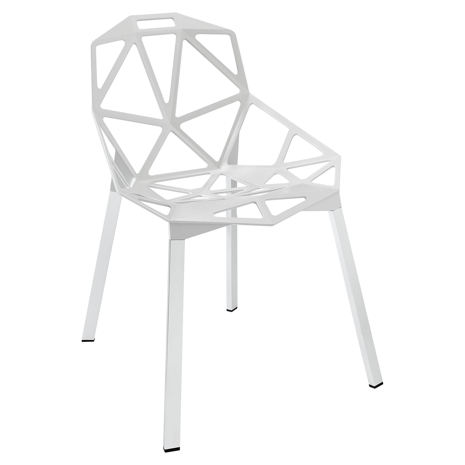 Connections Dining Side Chair - White