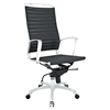 Tempo High Back Office Chair - Adjustable Height, Swivel, Armrest