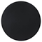 Track Circular Dining Table - Black - EEI-1055-BLK