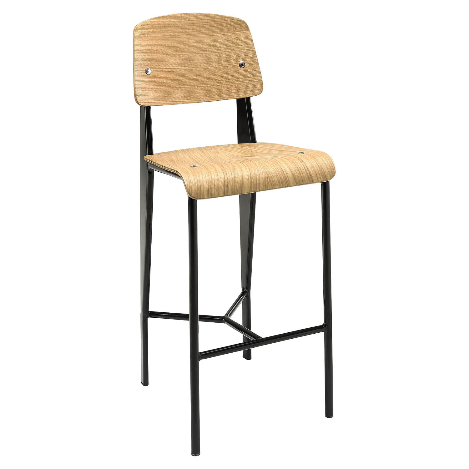 Cabin Counter Stool - Natural, Black