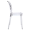 Entreat Dining Side Chair - Clear - EEI-1070-CLR