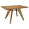Landing Wood Rectangular Dining Table - Walnut