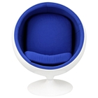 Kaddur Kids Ball Chair - Fiberglass, Eero Aarnio Style