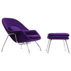 Womb Chair and Ottoman - Saarinen Inspired