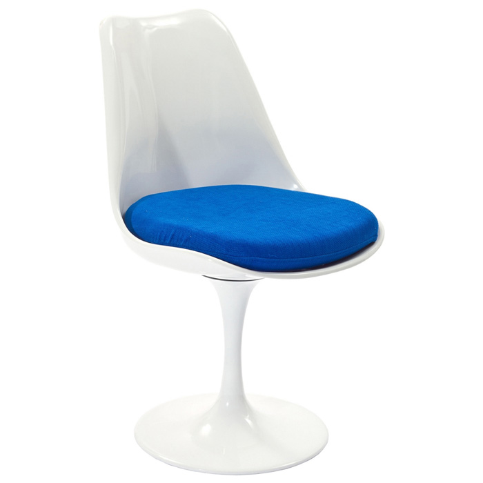 Lippa Saarinen Inspired White Side Chair