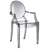 Casper Acrylic Stackable Ghost Armchair