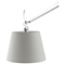 Reflect Aluminum Floor Lamp - Silver - EEI-1217-SLV