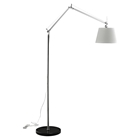 Reflect Aluminum Floor Lamp - Black