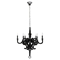 Anchor 6 Lights Chandelier - Black - EEI-1218-BLK