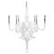 Anchor 6 Lights Chandelier - White - EEI-1218-WHI