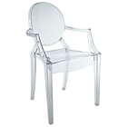 Casper Stackable Kids Armchair - Acrylic