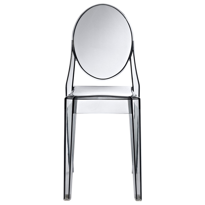 Casper Acrylic Stackable Ghost Side Chair - EEI-122
