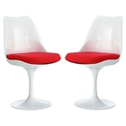 Lippa Dining Side Chair - Red (Set of 2)