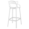 Entangled Bar Stool - White - EEI-1460-WHI