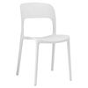 Hop Dining Side Chair - White