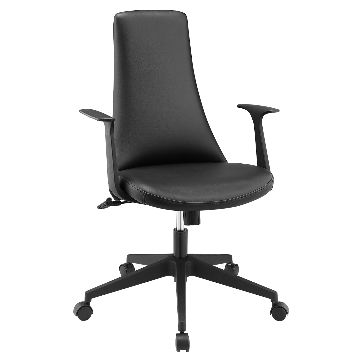 Fount Office Chair - Mid Back, Adjustable Height, Swivel, Armrest
