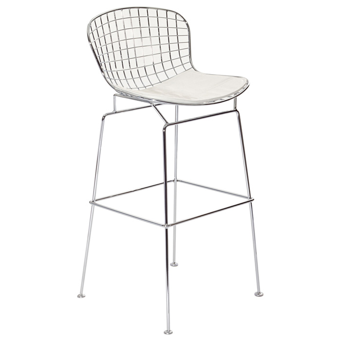 "Bertoia 29.5"" Wire Chair Bar Stool"
