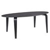 Event Oval Wood Dining Table - Black