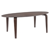 Event Oval Wood Dining Table - Walnut