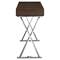 Sector Rectangular Console Table - X Legs, Brown - EEI-2048-BRN-SET
