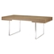 Tinker Rectangular Office Desk - Natural - EEI-293-NAT