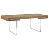 Tinker Rectangular Office Desk - Natural