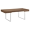 Tinker Rectangular Office Desk - Walnut - EEI-293-WAL