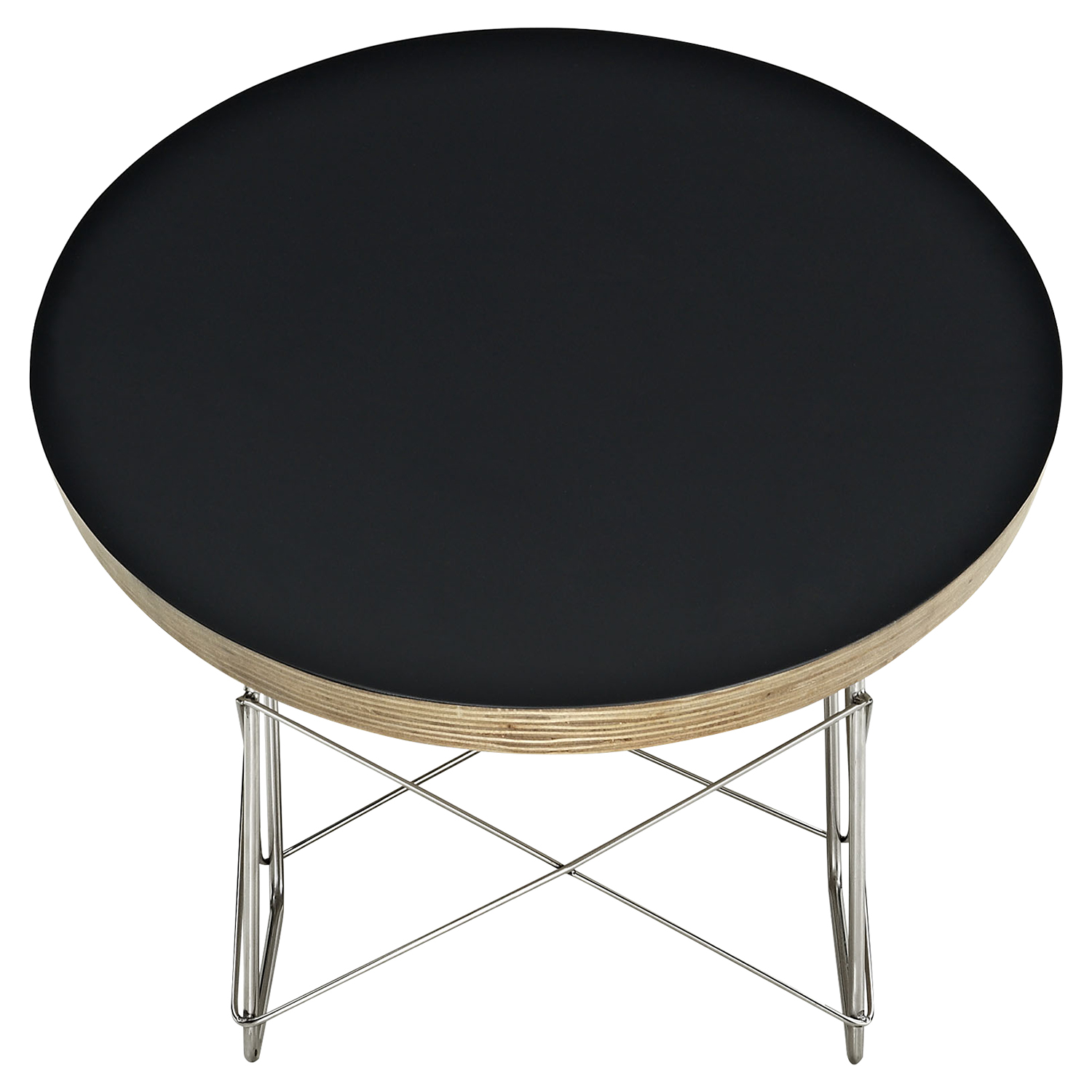 Surfboard Oval Coffee Table - Black - EEI-302-BLK
