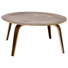 Molded Plywood Round Coffee Table