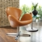 Arne Jacobsen Leather Swan Chair - EEI-527
