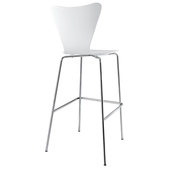 Arne Series 7 Molded Plywood Bar Stool - EEI-538