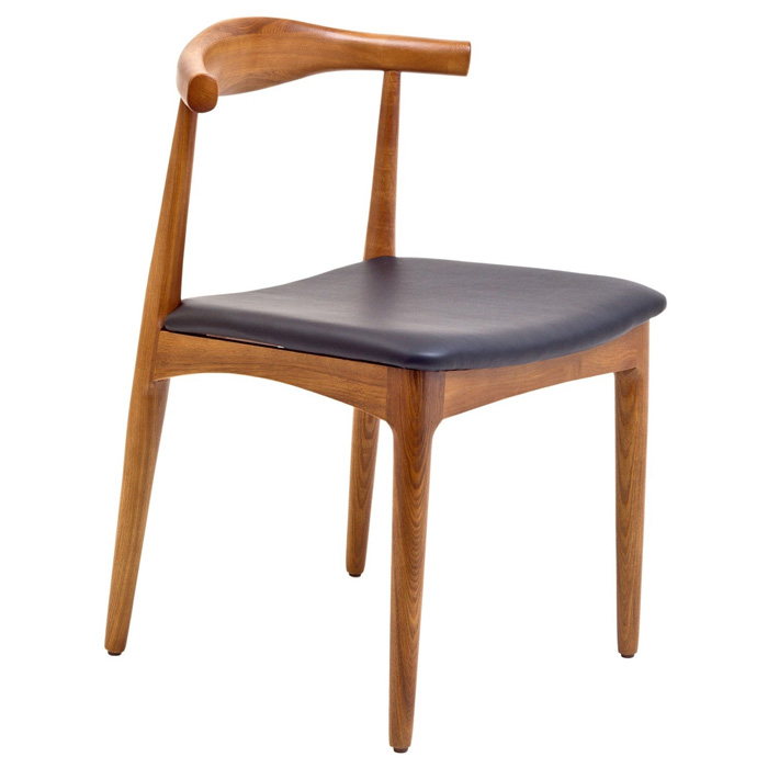 Tracy Kennedy Wood Dining Side Chair