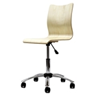 Plywood Natural Swivel Office Chair