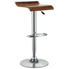 Bentwood Oak Bar Stool