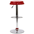 Soda Bottle Cap Metal Bar Stool