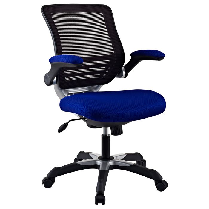 Edge Mesh Back Office Chair - Adjustable Height, Blue