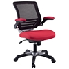 Edge Mesh Back Office Chair - Adjustable Height, Red