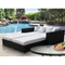 Palisades Patio Daybed - Espresso Frame, Mocha Cushions - EEI-613-EXP