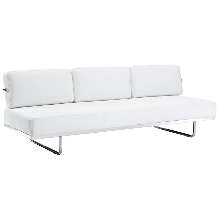 LC5 Modern Leather Daybed Sofa - EEI-626