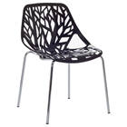 Stencil Stackable Plastic Chair