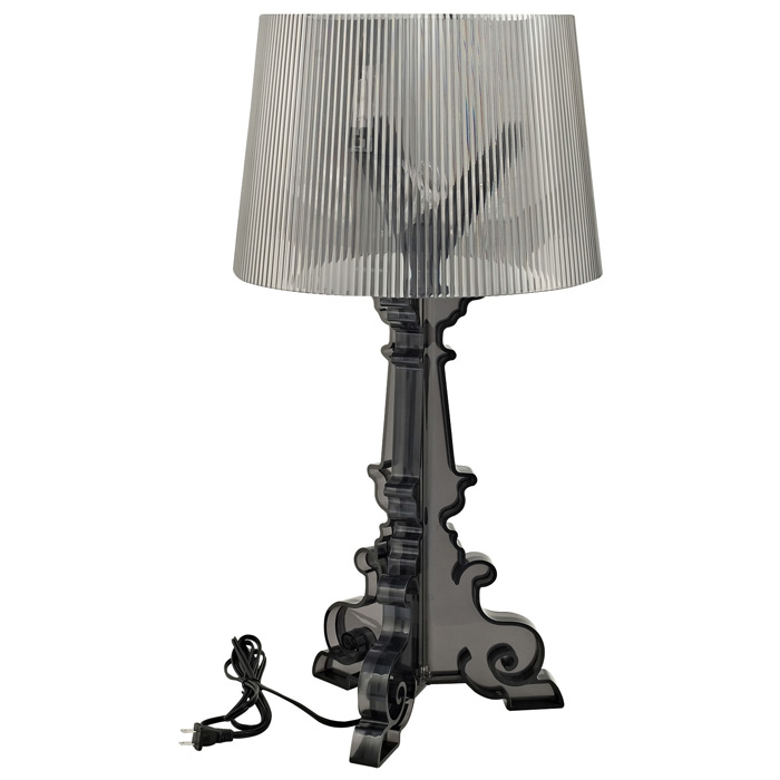 French Acrylic Table Lamp