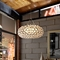 "Halo 20"" Acrylic Chandelier - Clear - EEI-820"