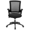 Aspire Office Chair - Mesh, Adjustable Arms, Black